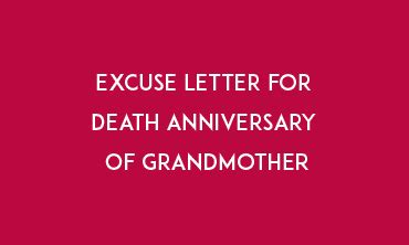 How to write an excuse letter